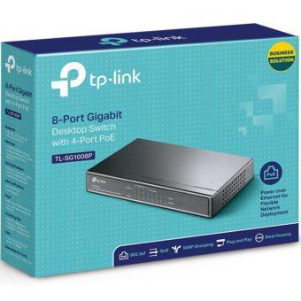 C TP LINK TL SG1008P 5 340x340 - RACK APC NETSHELTER SX 12U 600MM X 900MM