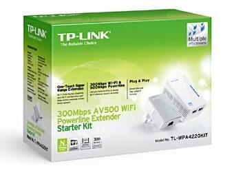 COMEROS TP LINK TL WPA4220KIT 2 340x270 - PATCHPANEL FURUKAWA 24P CAT.6 MODULAR GIGALAN NG