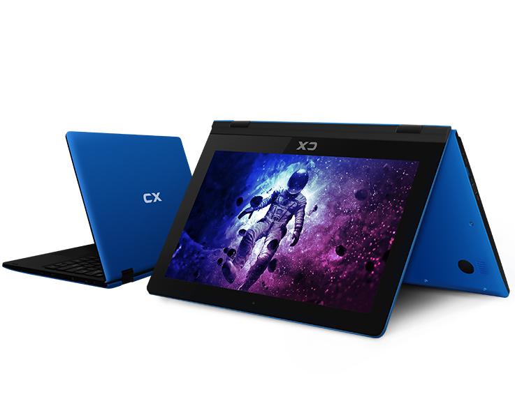 5 - 2EN1 CX 11.6 YOGA STYLE Z8350 2GB 32GB W10 AZUL