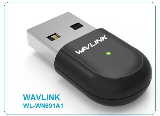 27789 1a1 - PLACA DE RED USB WAVLINK WL-WN691A1 600M DUAL BAN