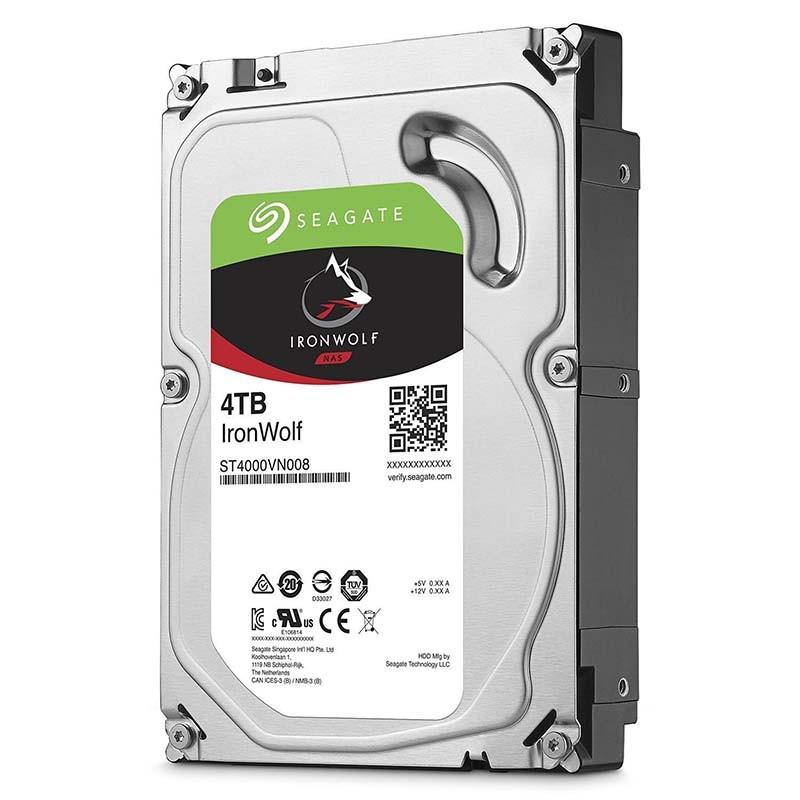 0070595 seagate ironwolf 4tb 35 sata 6gbs 64mb cache hard drive - DISCO RIGIDO 4 TB SEAGATE  SATA 6GB/S 64MB NAS IRONWOLF