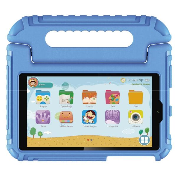 "1200 1200 Kids7A blue 02 600x600 - Tablet VIEWSONIC 7"" ViewPad Kids 7A Azul"