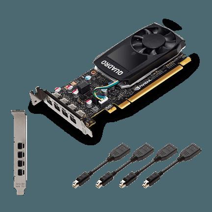 prev Quadro P620 gr - PLACA DE VIDEO 2GB QUADRO P620 PNY GDDR5 4x mDP LP