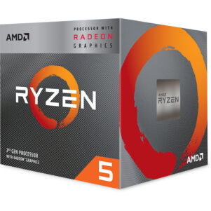 MICROPROCESADOR AMD RYZEN 5 3400G AM4 3.7GHZ 65W
