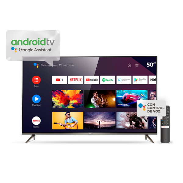 5daa2396134da AAAAP8M 50 600x600 - TV 50 SMART TCL UHD 4K