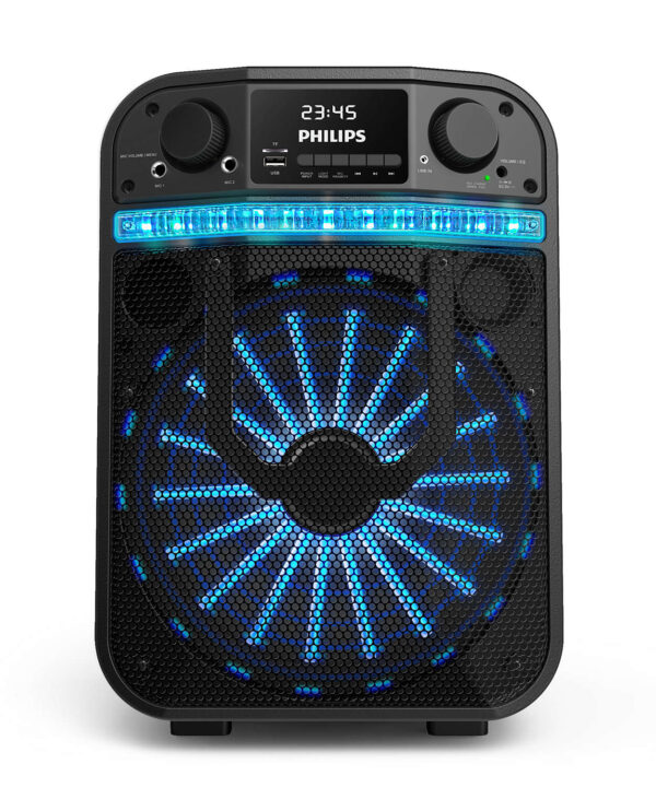 TANX20 77 IMS es AR 600x742 - PARLANTE PHILIPS PARTY CARRY ON TANX20/77 BLACK