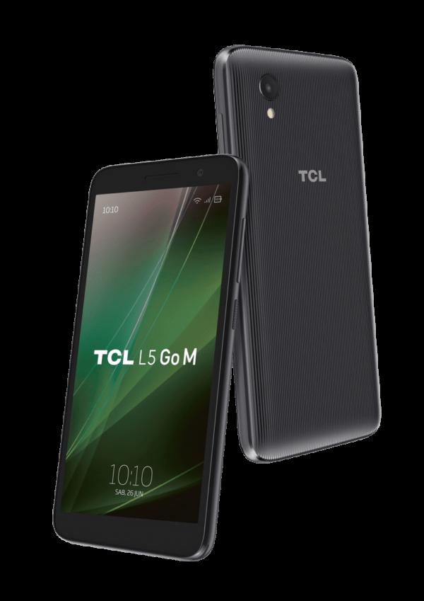 5d85371e428fc TCL L5GoM 600x849 - 1 CELULAR TCL L5 GO M 16GB + 1GB  METALLIC BLACK