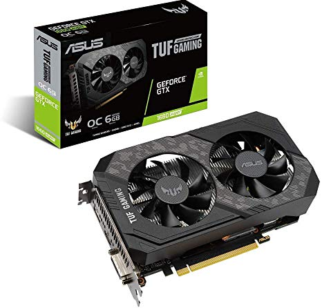 61DZuvqHbuL. AC SX466  - PLACA DE VIDEO 6GB GTX 1660 SUPER ASUS TUF GAMING OC