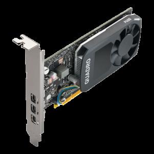 Quadro P400 V2 3QTR Top Left 301x301 - PLACA DE VIDEO 2GB QUADRO P400 PNY mDP 1.4 x 3 SINGLE SLOT LP