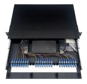 COMEROS BANDEJA FO GLC 301x292 - BANDEJA FO GLC C/ ADAP SC/APC + PIGTAIL SCAPC X24