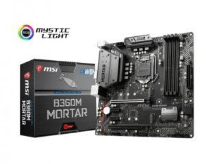 COMEROS MSI 7B23 001R 4 301x240 - MOTHERBOARD MSI S1151 B360M MORTAR BOX M-ATX